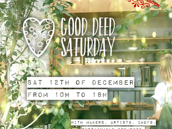 Good Deed Saturday Special Holiday Edition